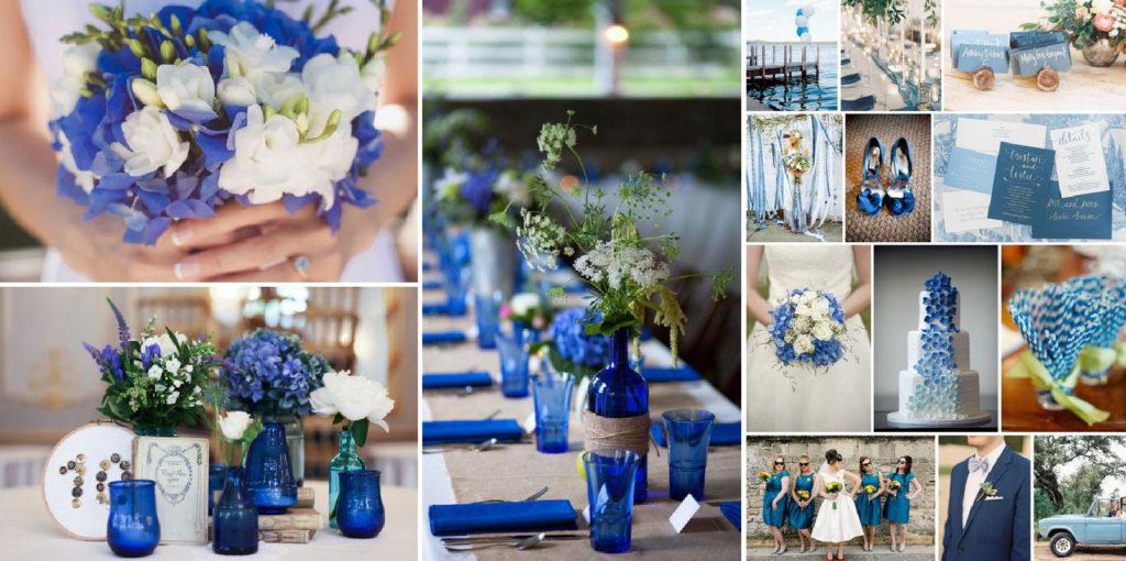 JOrganise - wedding planner et organisation d'évènements - Hauts de France - Nord - Pas-de-Calais - Mariage - Décoration color block Bleu