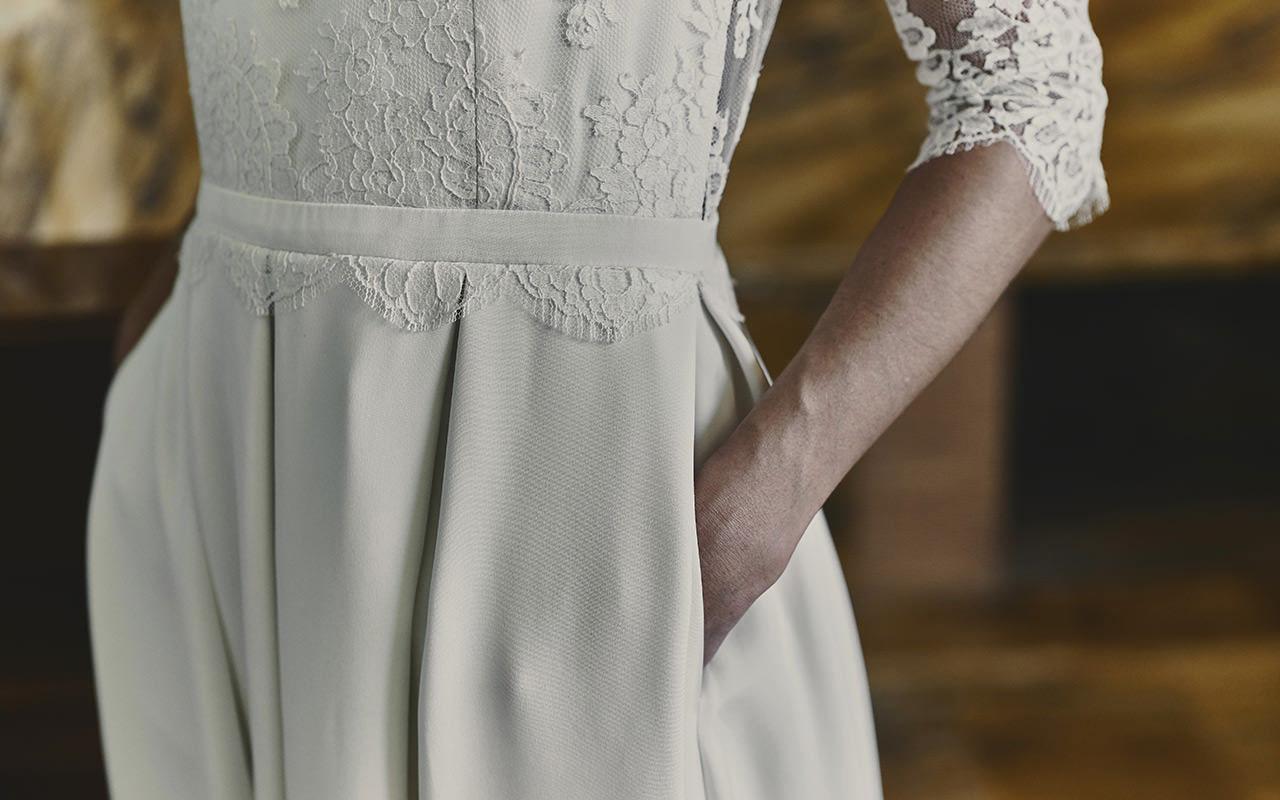 La robe de mariée...