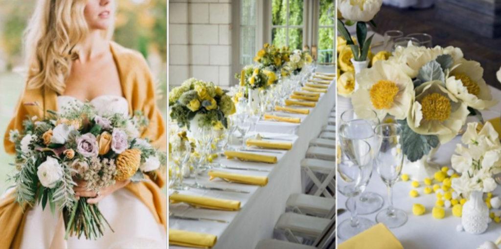 JOrganise - wedding planner et organisation d'évènements - Hauts de France - Nord - Pas-de-Calais - Mariage - Décoration color block Jaune