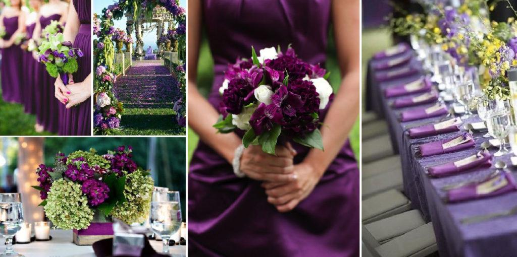 JOrganise - wedding planner et organisation d'évènements - Hauts de France - Nord - Pas-de-Calais - Mariage - Décoration color block Violet